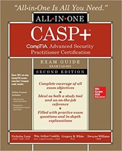 https://www.amazon.com/CompTIA-Advanced-Security-Practitioner-Certification/dp/1260441334/ref=sr_1_1?keywords=casp+%2B&qid=1569430366&s=books&sr=1-1