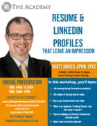 Virtual Presentation with Scott Singer!
